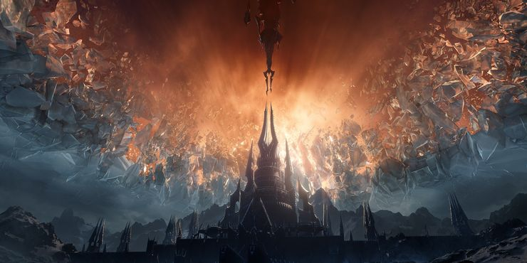 world of warcraft shadowlands wallpaper